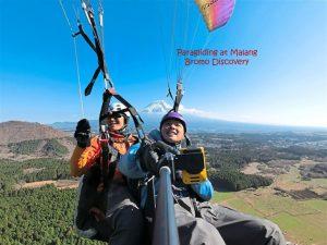 Mt. Semeru Paragliding Tour