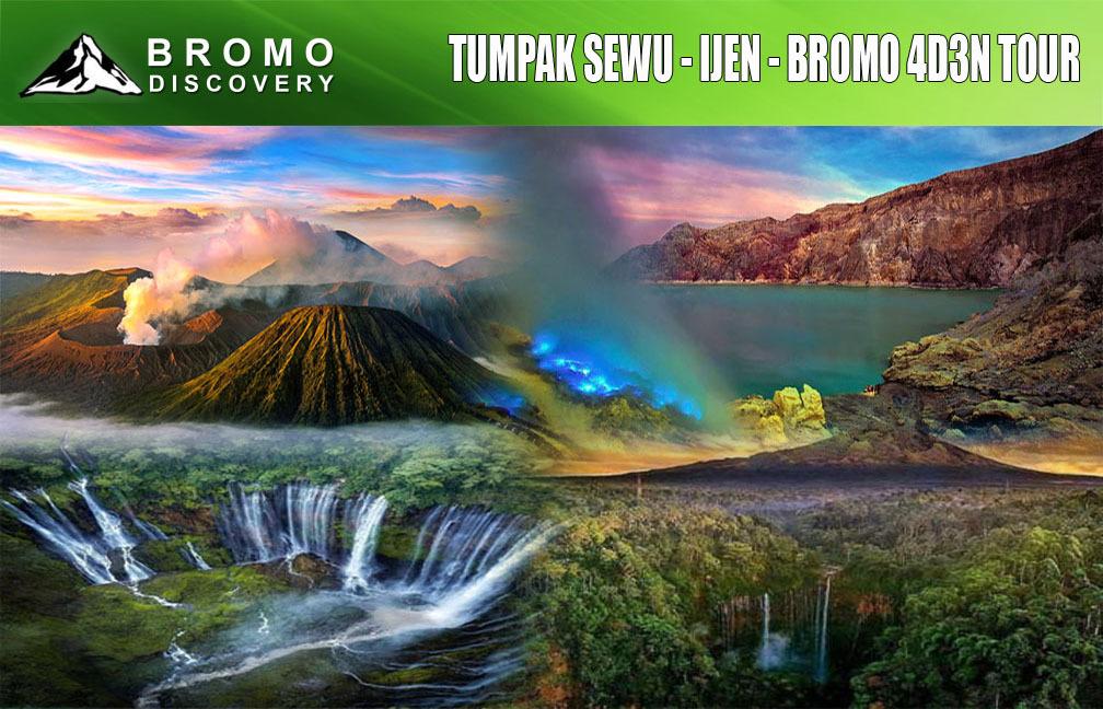 Tumpak Sewu Ijen Bromo Tour